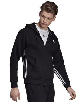 Chaqueta Must have 2 stripes fz - Negro