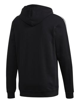 Sudadera M 3 stripes tape oh - Negro