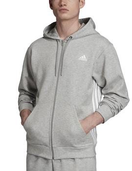 Chaqueta Must have 3 stripes full zip - Gris