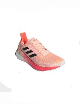 Zapatillas running Solar boost 19 w - Coral