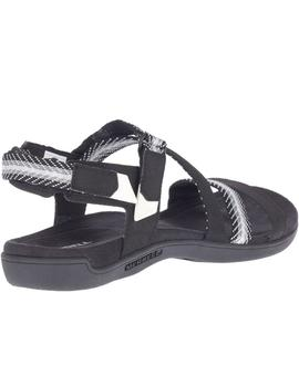Sandalias District mendi backstrap - Negro