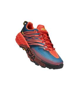 Zapatillas trail Speedgoat 4 - Azul naranja