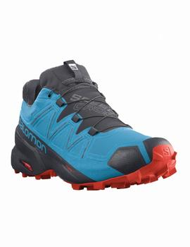 Zapatillas trekking Speedcross 5 gtx - Azulon