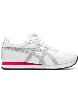 Zapatillas urban Tiger runner - Blanco rosa