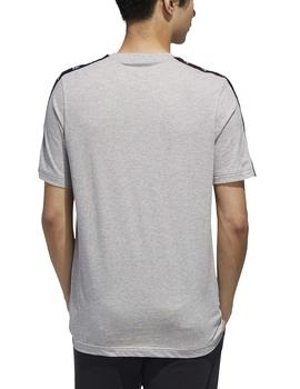 Camiseta Essential tape tee - Gris