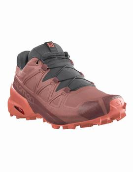 Zapatillas trail Speedcross 5 w - Rojo merlot