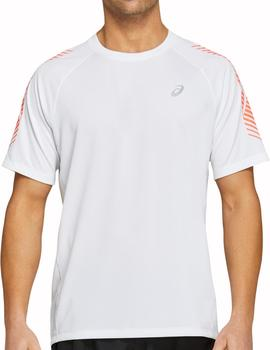 Camiseta tecnica Icon ss top - blanco