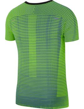 Camiseta running Techknit ultra - Verde