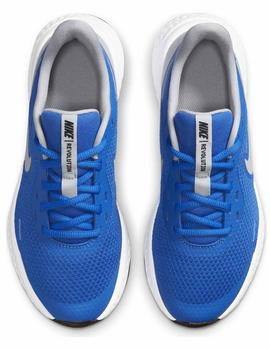 Zapatillas Revolution 5 gs - Azul gris