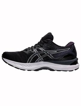 Zapatillas running Gel ninbus 23 - Negro blanco