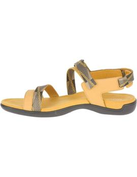 Sandalias District mendi backstrap - Amarillo