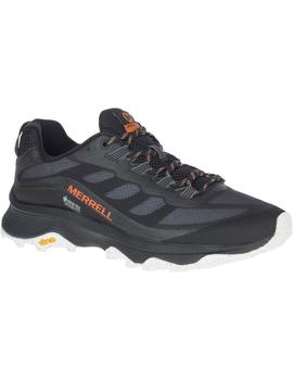 Zapatillas trekking Moab speed gtx - Negro