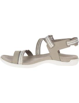 Sandalias District mendi backstrap - Beige