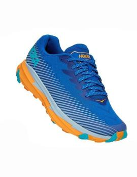 Zapatillas trail Torrent 2 - Azul amarillo