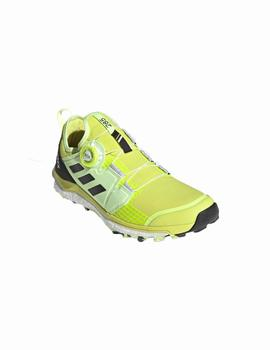 Zapatillas trail Terrex agravic boa - Amarillo