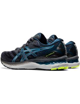 Zapatillas running Gel nimbus 23 - Gris azul