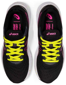 Zapatillas Gel excite 8 - Negro rosa amarillo