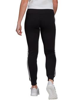 Panalón W 3 stripes fleece c pants - Negro