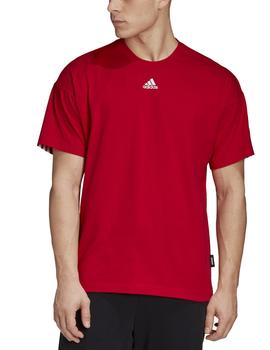 Camiseta Must have 3 stripes tee - Rojo