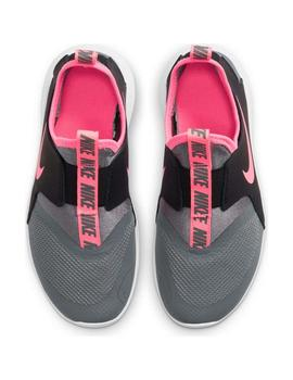 Zapatillas Flex runner - Gris rosa