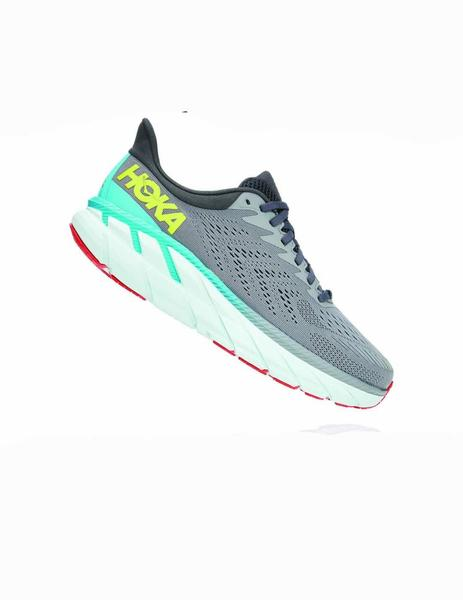 Zapatillas running Clifton 7 - Gris
