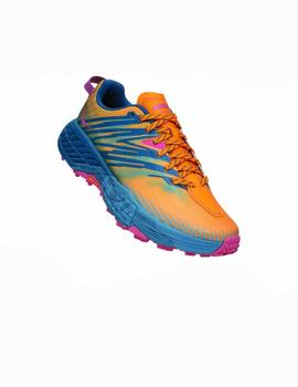 Zapatillas trail Speedgoat 4 w - Amarillo azul