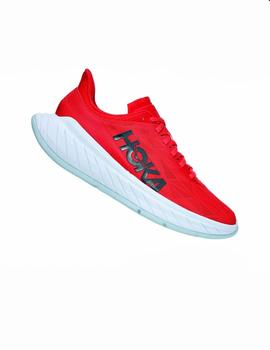 Zapatillas running Carbon x 2 - Rojo blanco