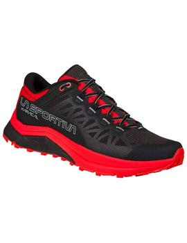 Zapatillas trail Karacal - Negro rojo