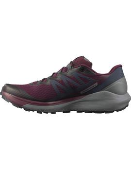 Zapatillas trail Sense ride 4 w - Granate