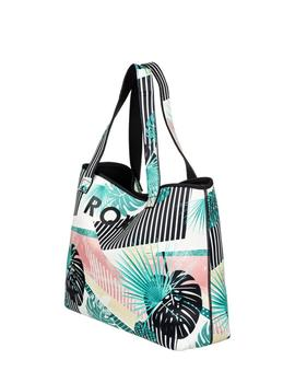 Bolso All things - Blanco flores