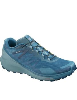 Zapatillas trail Sense ride 3 - Aguamarina