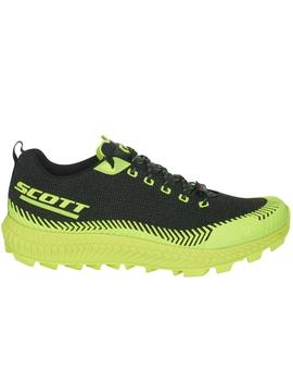 Zapatillas trail Supertrac ultra rc- Negro amarillo